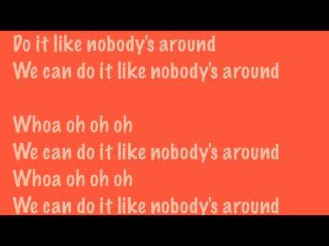 Big Time Rush Like Nobody's Around Lyric Video