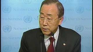 U.N. Secretary-General to travel to Haiti to show solidarity with quake victims