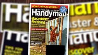 The Family Handyman Magazine Subscription Huge Discount [save 77%]