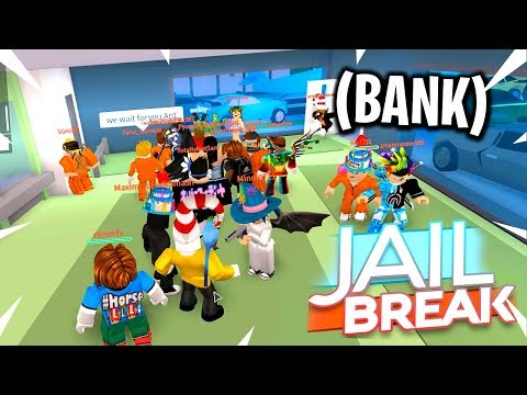 WORLD RECORD BANK ROBBERY IN ROBLOX JAILBREAK