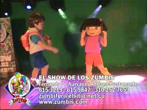 Diego y Dora La Exploradora - El S De Los Zumbis .zumbism