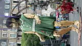 danse de la petite géante (dimanche 7 juin 2009)