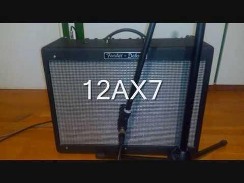 12ax7 vs 12au7 in V1 on Hot Rod Deluxe