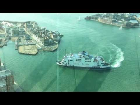 My trip up the Spinnaker Tower, Portsmouth