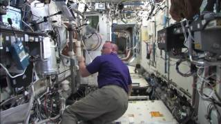 NASA Astronauts Tour of Intenational Space Station