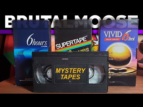 Mysterious Unlabeled VHS Tapes | Treasure Hunt!