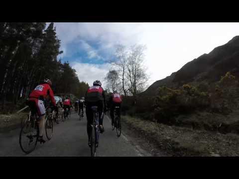Etape Loch Ness 2015 Cycle - Hill climb near Fort Augustus