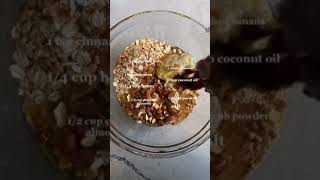 Banana Bread Granola tiktok elanneboake