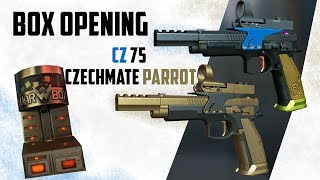 Warface box opening CZ 75 Czechmate Parrot - Crown boxes