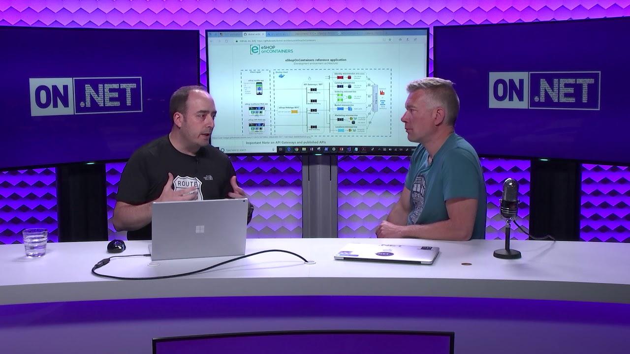 Channel 9-Video: Microservice-Architektur mit ASP.NET Core