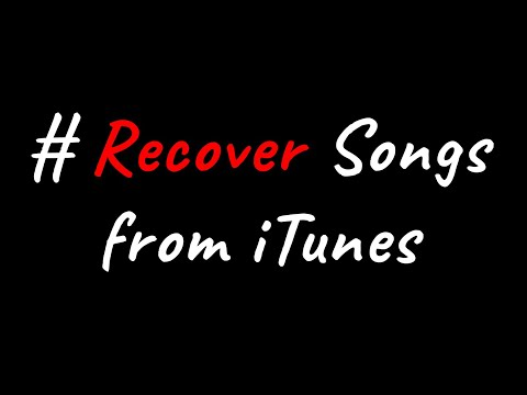 How to Recover Deleted Music from iTunes Library ?