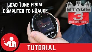 How to Load a Custom 5 Star Tune From Computer to nGauge