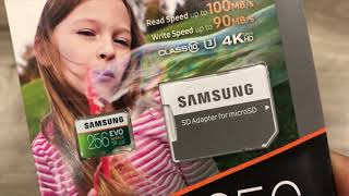 How to Identify a Real or a Fake Samsung EVO microSD 256GB Memory Card