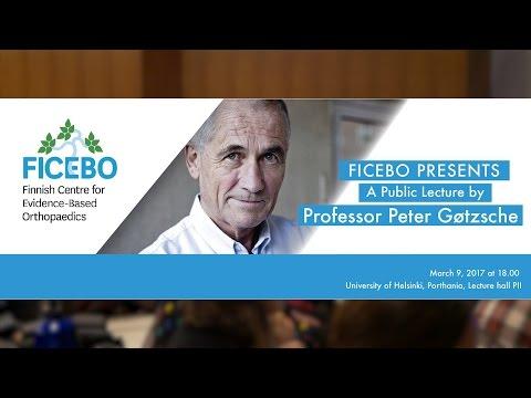 "Public Lecture by Professor Peter Gøtzsche: ""Psychiatric drugs do more harm than good"""
