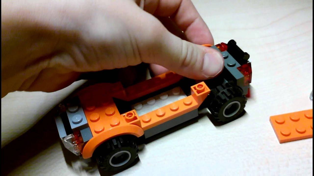 инструкция лего как построить машину