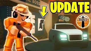 BIGGEST Jailbreak UPDATE Tonight!? *NEW!* | ASIMO3089 BADCC TESTING | Roblox Jailbreak Weapon Update
