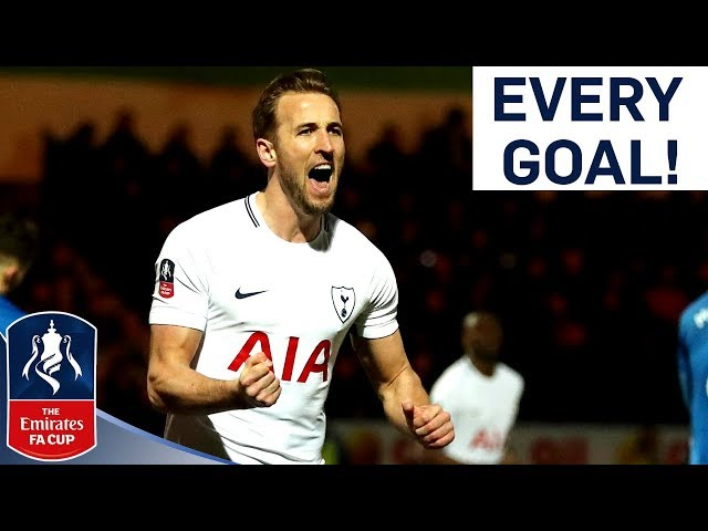 Harry Kane | Every Tottenham Emirates FA Cup Goal!