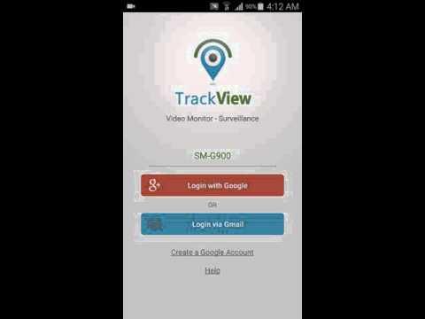 track view как подключить смартфон жены ro