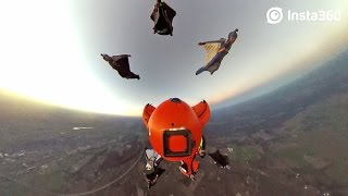 Insta360 – Forced Perspective Skydiving