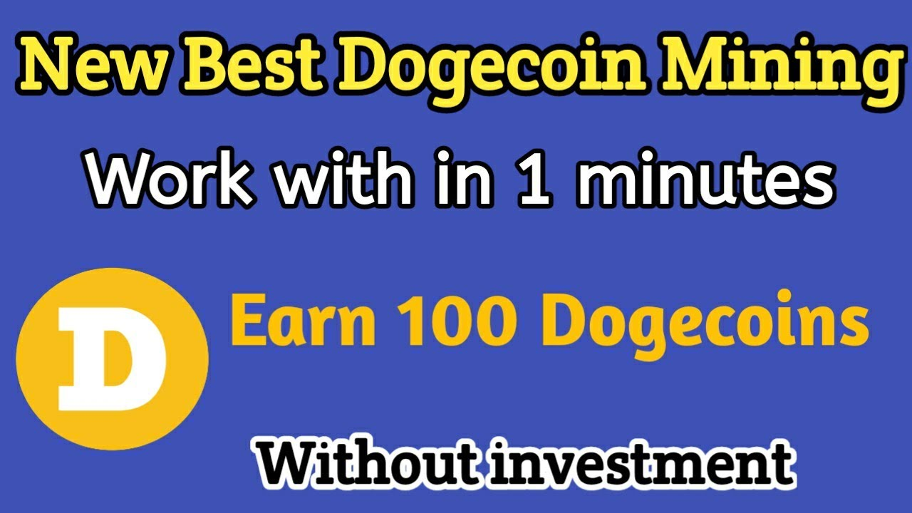 How To Mine Dodgecoin How To Mine Dogecoins 2019