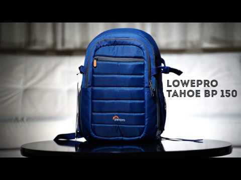 """Review"" Lowepro Tahoe Bp 150 azul"