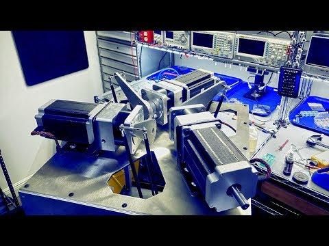 Laser Cutting Aluminum part for my Delta Robot