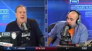 Michael Kay GOES OFF On Caller for Saying Him and Peter Should Show More Respect to Mike Francesa