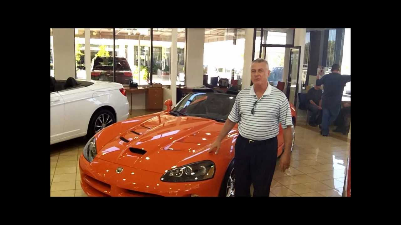 2010 Dodge Viper SRT10 at Naples Florida Dodge Chrysler Jeep Mazda