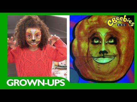 CBeebies | Grown-ups | Cheshire Cat Face Paint Tutorial