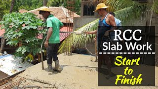 How We Do RCC Slab Work Start to Finish, On Konkani Bungalow. 100% Quality Work.