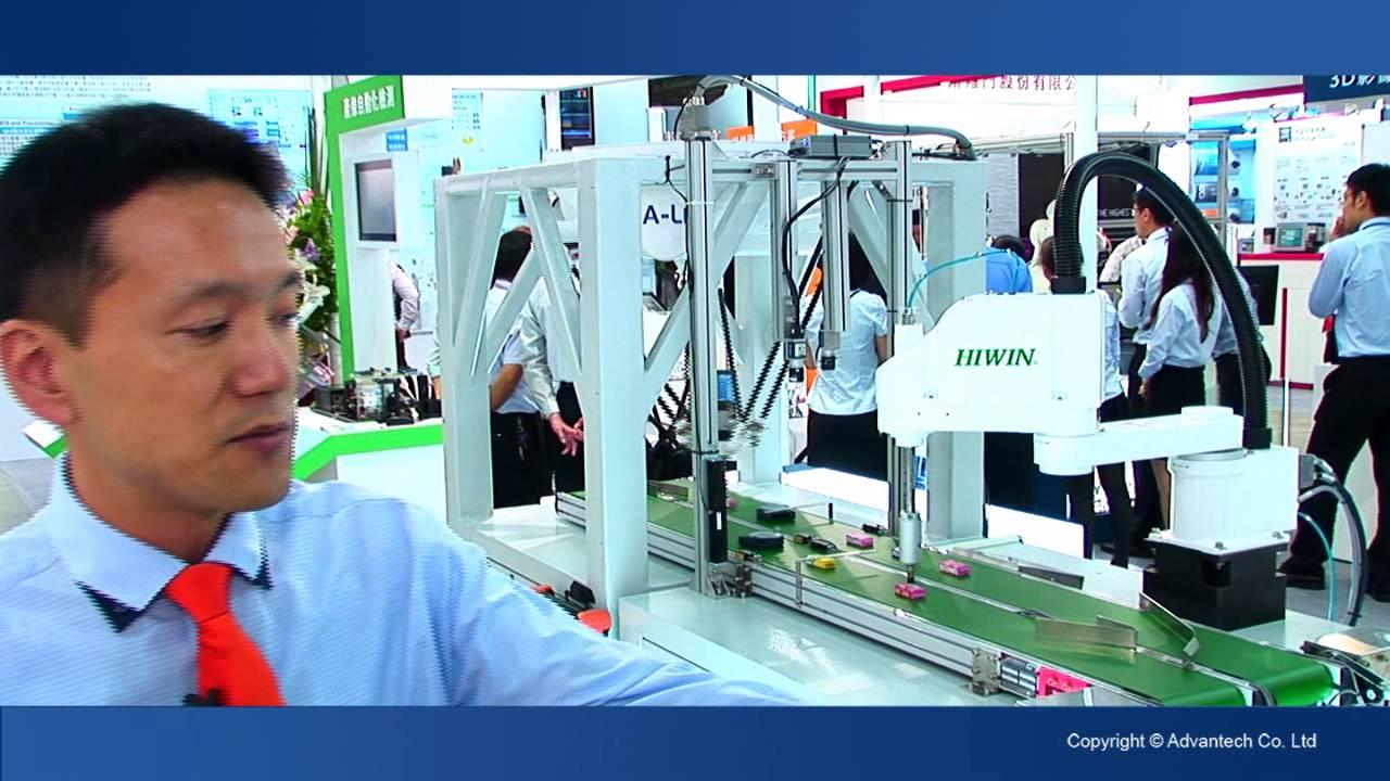 2015自動化展 - 機器人智慧控制器 - YouTube