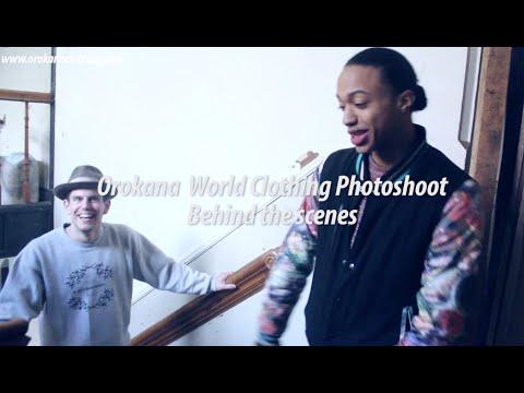 Orokana World Clothing Photoshoot | Behind The Scenes