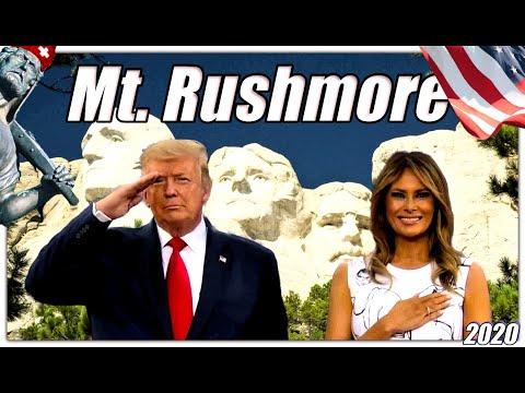 Präsident Trump beschützt Mt. Rushmore | Auszüge aus seiner patriotischen Rede