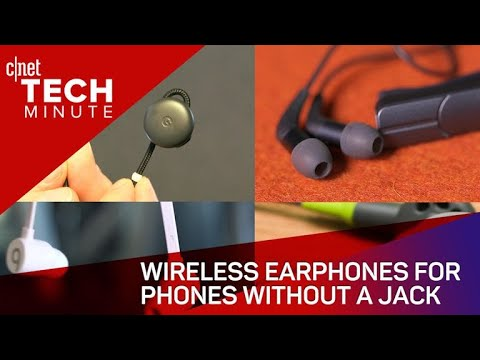 Download Youtube: Wireless earphones for phones without a jack (Tech Minute)