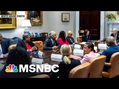 Civil Rights Leaders Meet With Biden To Discuss Voting Rights | MSNBC