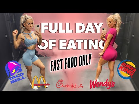 HEALTHY Full Day Of Eating | Fast Food ONLY