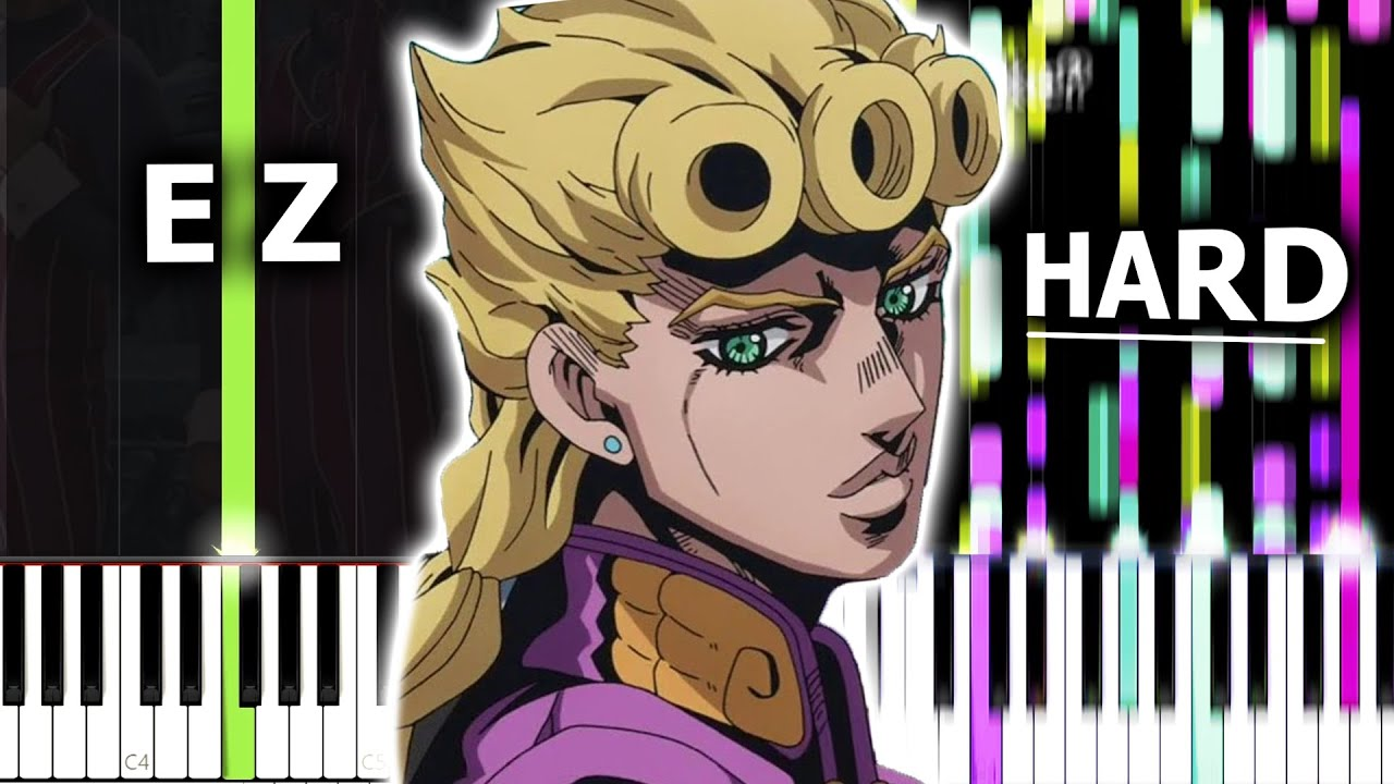 GIORNO'S THEME, but it gets from Easy to IMPOSSIBLE