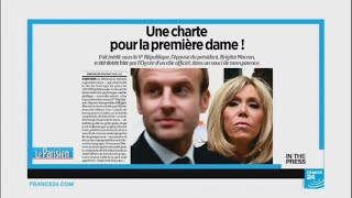 Charter of transparency…but no official 'first lady' title for Brigitte Macron