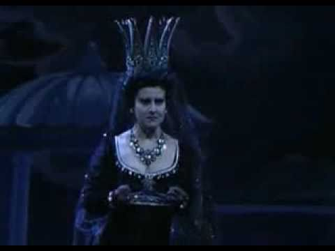 Ópera - la flauta mágica - La reina de la noche - Mozart