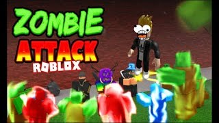 WE PLAY ZOMBIE ATTACK IN ROBLOX!!! ALUBRA GAMER