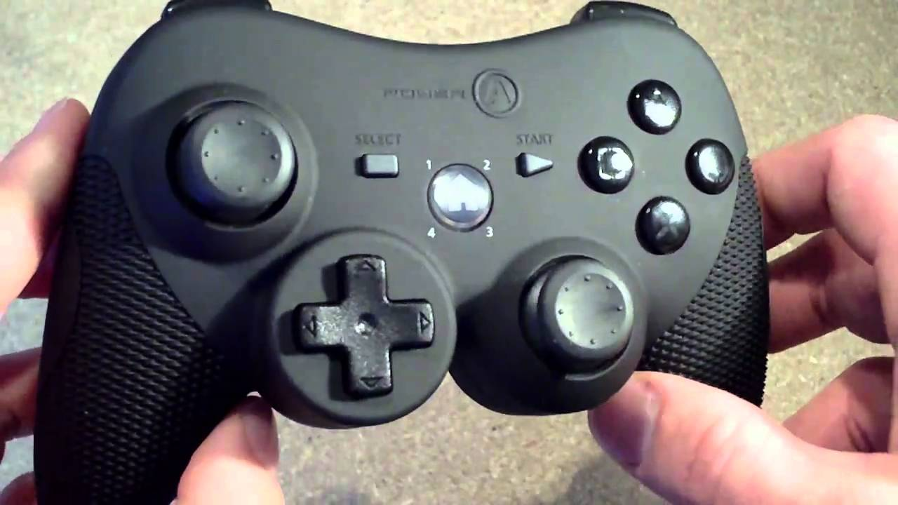 Power A Playstation 3 Controller Review , Xbox 360 Style controller for PS3  , Pro Elite , YouTube