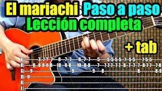 como tocar el mariachi de antonio banderas en guitarra riff ritmo acordes tutorial completo
