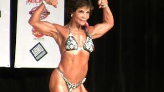 Female Bodybuilder Dr. Josefina Monasterio Vibrant at any Age