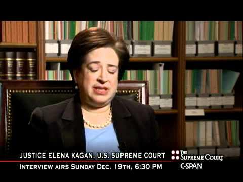 Justice Kagan On Chief Justice Roberts