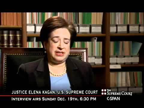 Justice Kagan on Chief Justice Roberts