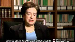 In this excerpt from C-SPAN's interview with Associate Supreme Court Justice Elena Kagan (airing Sunday, December 19 at 6:30 p.m. ET on C-SPAN), Justice ...