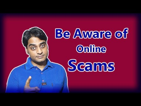 Be Aware of Online Scam