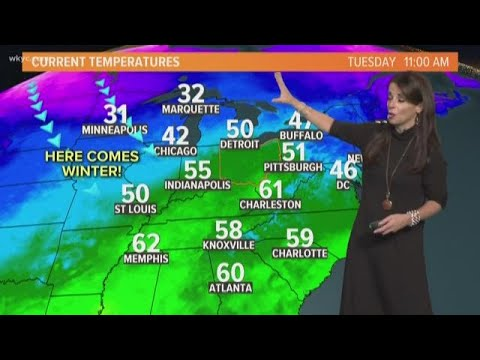 Afternoon weather forecast for Northeast Ohio: January 8, 2019