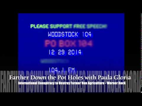 """Werner Bock on """"Farther Down the Pot Holes with Paula Gloria"""" part 3"""