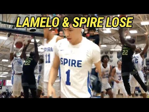 LaMelo Ball & Spire Suffer FIRST LOSS Of Season! Prolific Prep Came Ready To FIGHT 😱